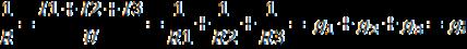 Проводимость при параллельном соединении резисторов