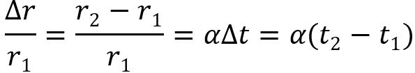 Температурный коэффициент альфа